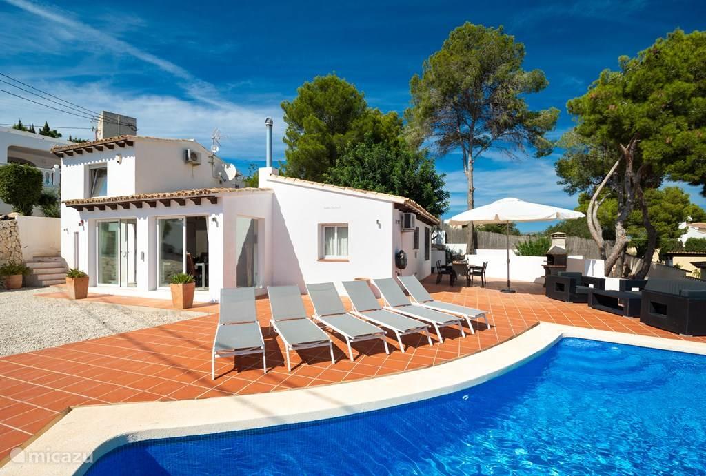 Vakantiehuis Spanje, Costa Blanca, Moraira villa Los Pajaros Holiday villa