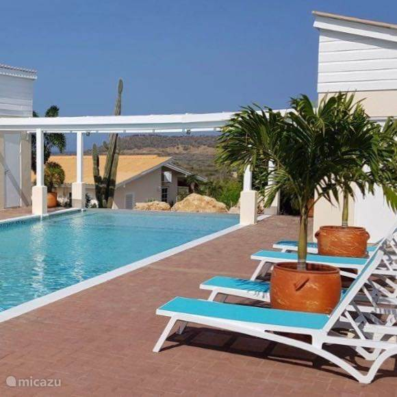 Santa Catharina Resort, gemeenschappelijk zwembad *HuisjeHurenCuracao