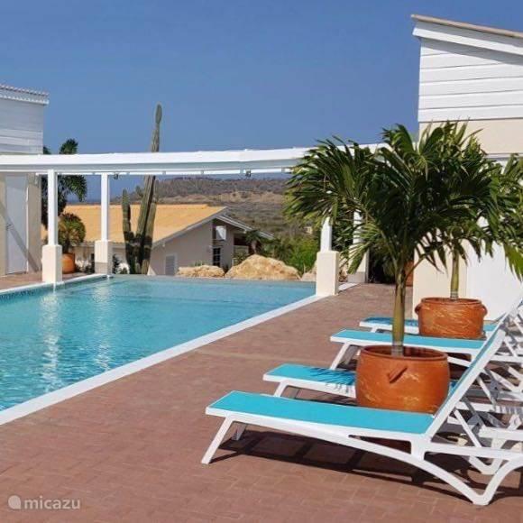 Santa Catharina Resort, communal pool *HuisjeHurenCuracao