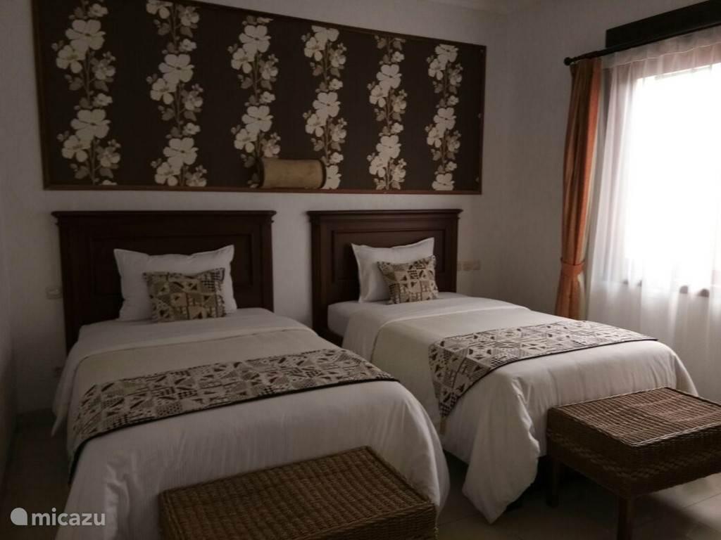 Standaardkamer met 2 bedden.