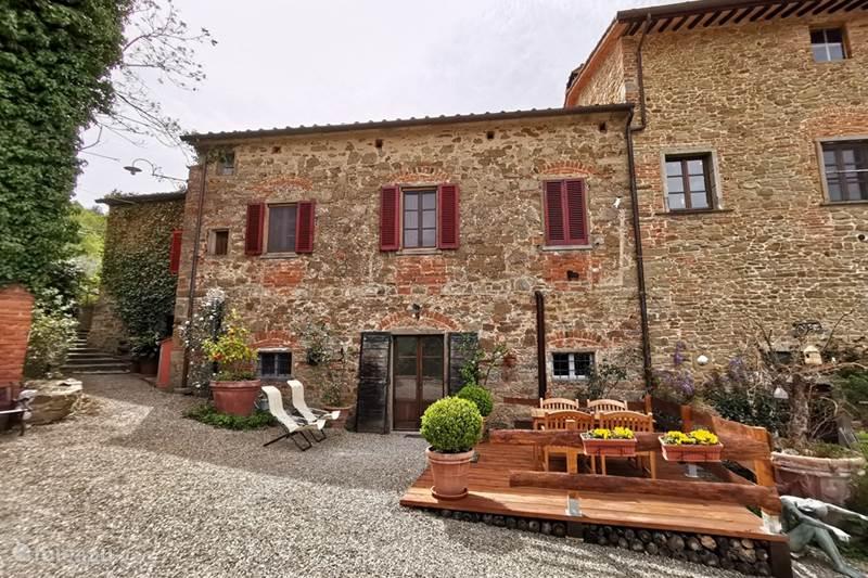 Vakantiehuis Italië, Toscane, Castiglion Fiorentino Appartement Casale le Colonne, Il Forno