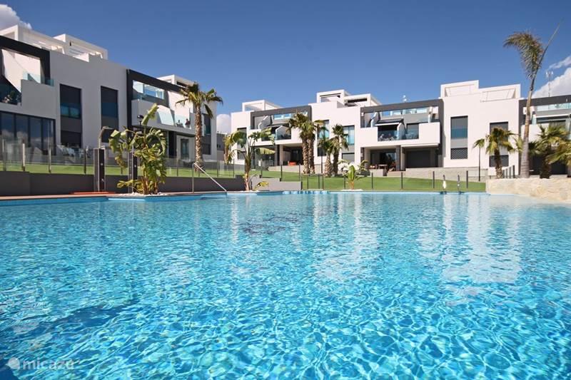 Vakantiehuis Spanje, Costa Blanca, Torrevieja Appartement Penthouse Casa Esmeralda Oasis Beach