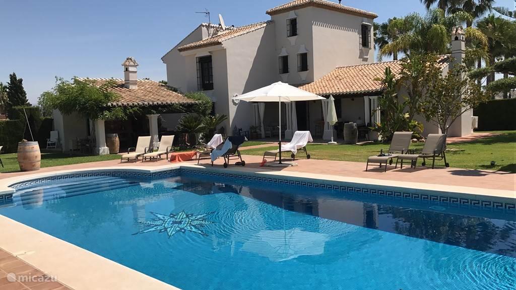 Vakantiehuis Spanje, Andalusië, Alhaurín el Grande villa Feresa