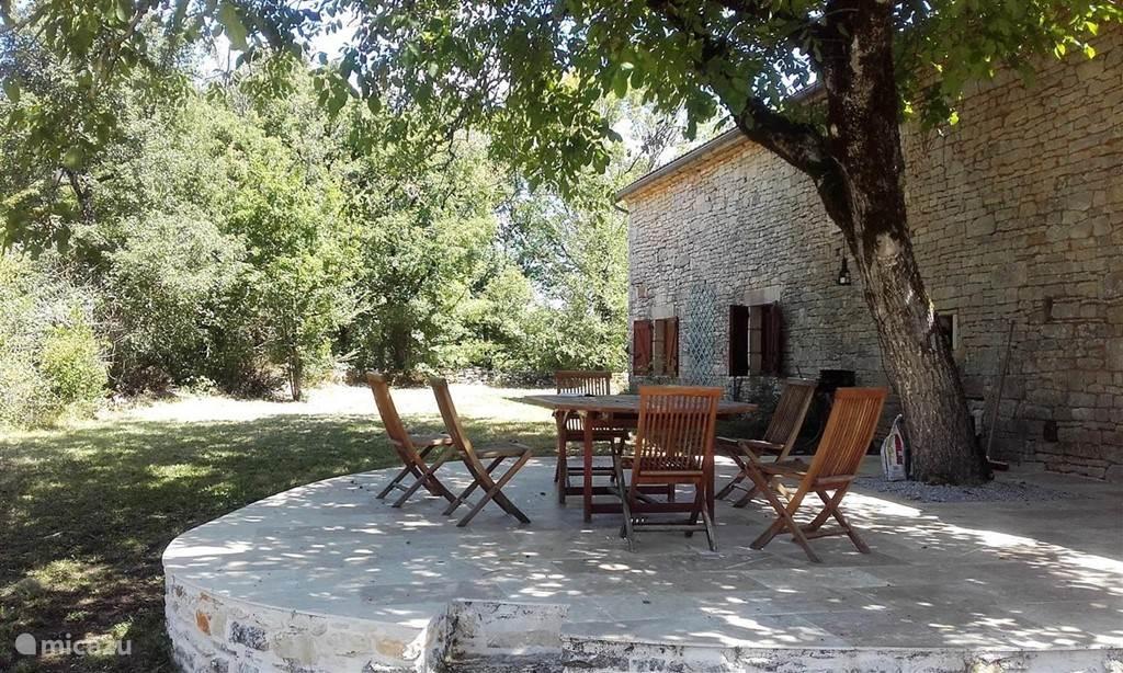 Naturisme, Frankrijk, Dordogne, Souillac, villa Brunette