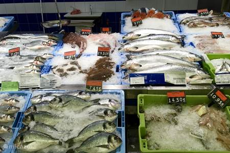 Supermarkt Consum vlak bij La Rubia