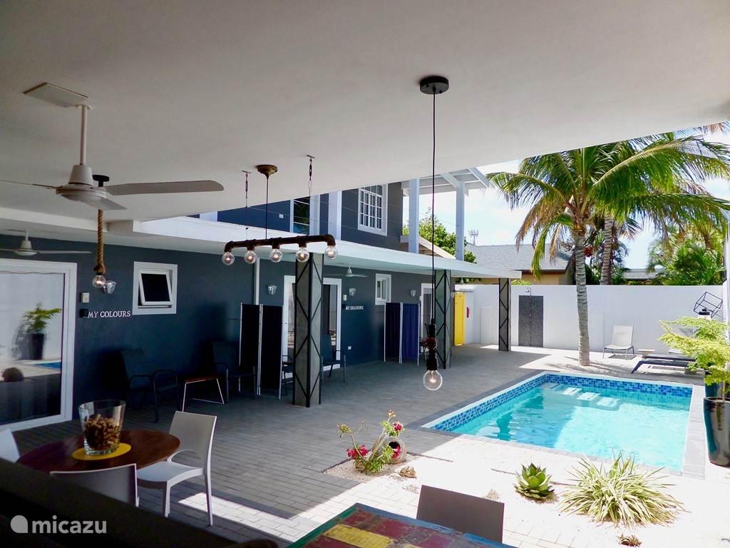 Vakantiehuis Aruba, Noord, Eagle Beach Studio Mooi apt ook per mnd ziekenhuis area