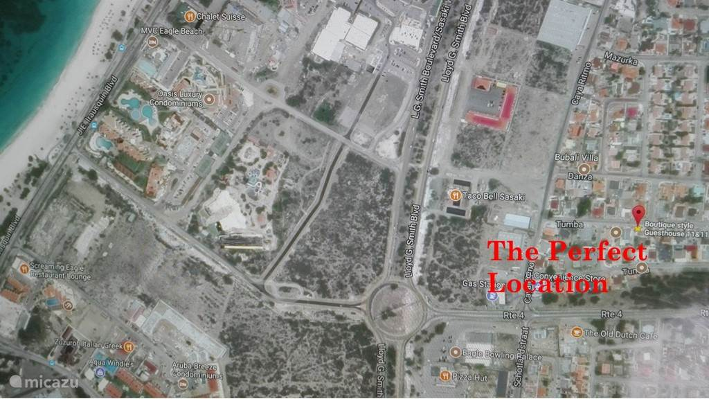 Ferienwohnung Aruba, Aruba Nord, Eagle Beach Studio Schöne Wohnung längere Zeit im Krankenhaus