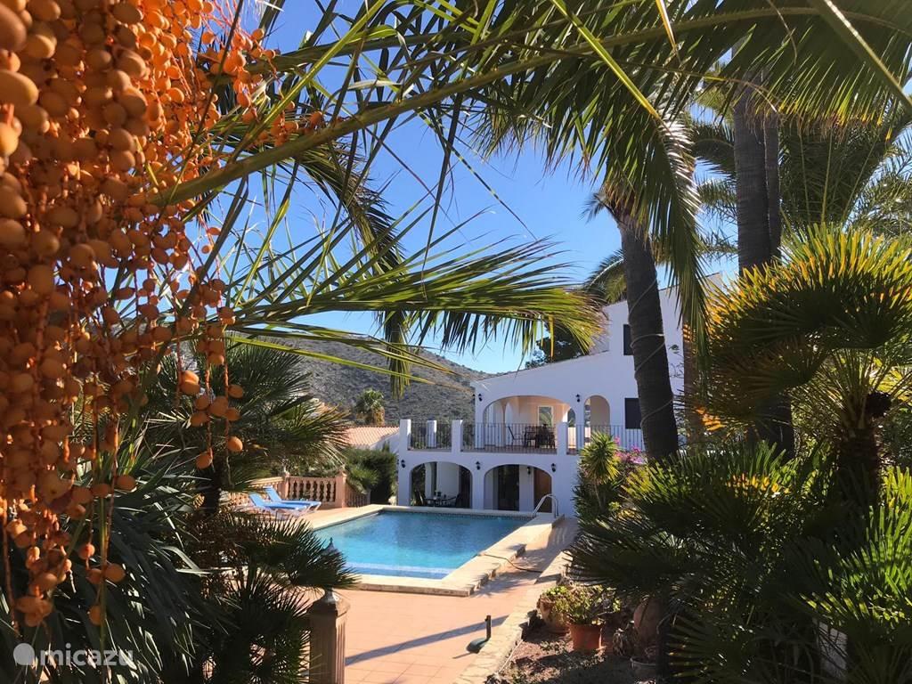 Vakantiehuis Spanje, Costa Blanca, Moraira vakantiehuis La Porteña