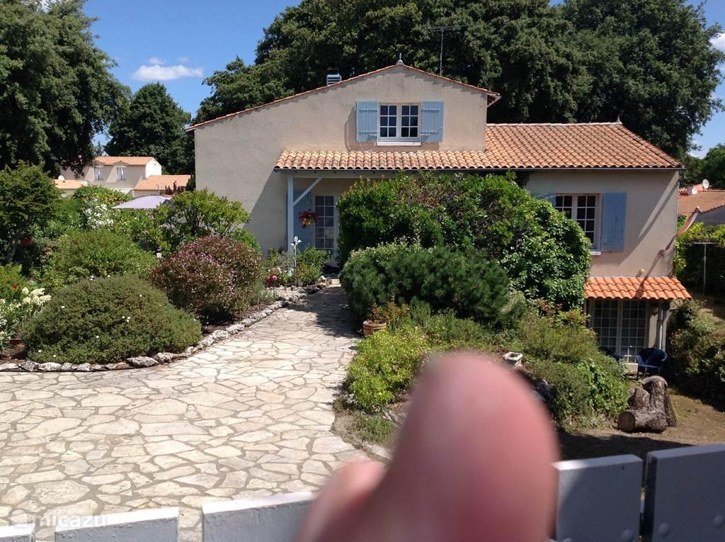 Vakantiehuis Frankrijk, Charente-Maritime, Meschers-sur-Gironde Vakantiehuis Villa Blanche la Source Elëonore