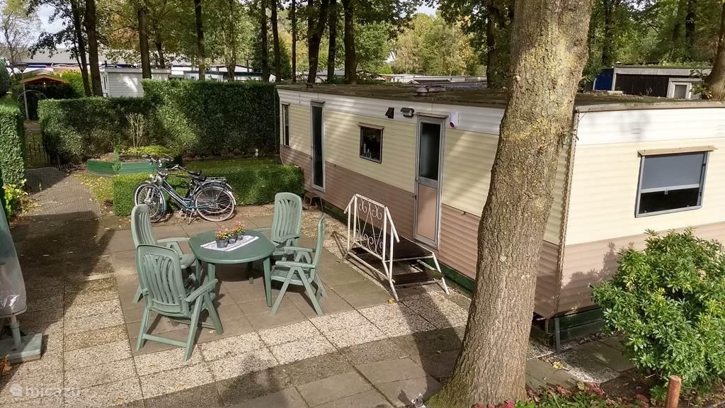 Vakantiehuis Nederland, Drenthe, Wijster Stacaravan Park de Otterberg, incl fietsen