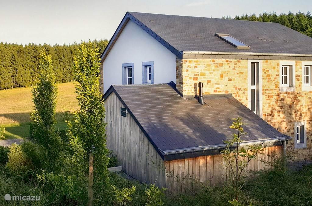 Vakantiehuis België, Ardennen, Libin - villa Le Cerf Blanc