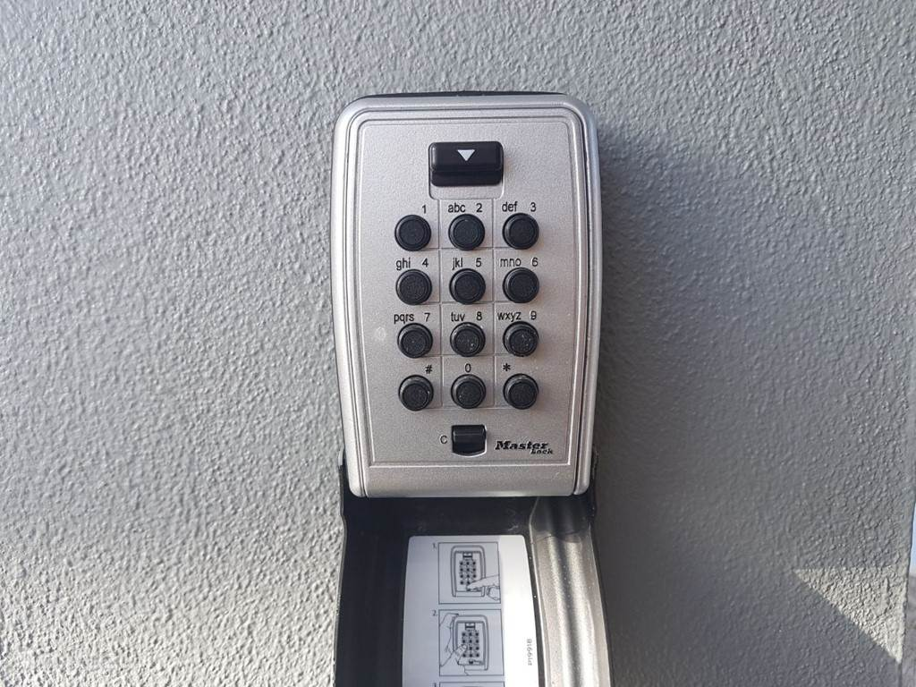 kluisbox met sleutel