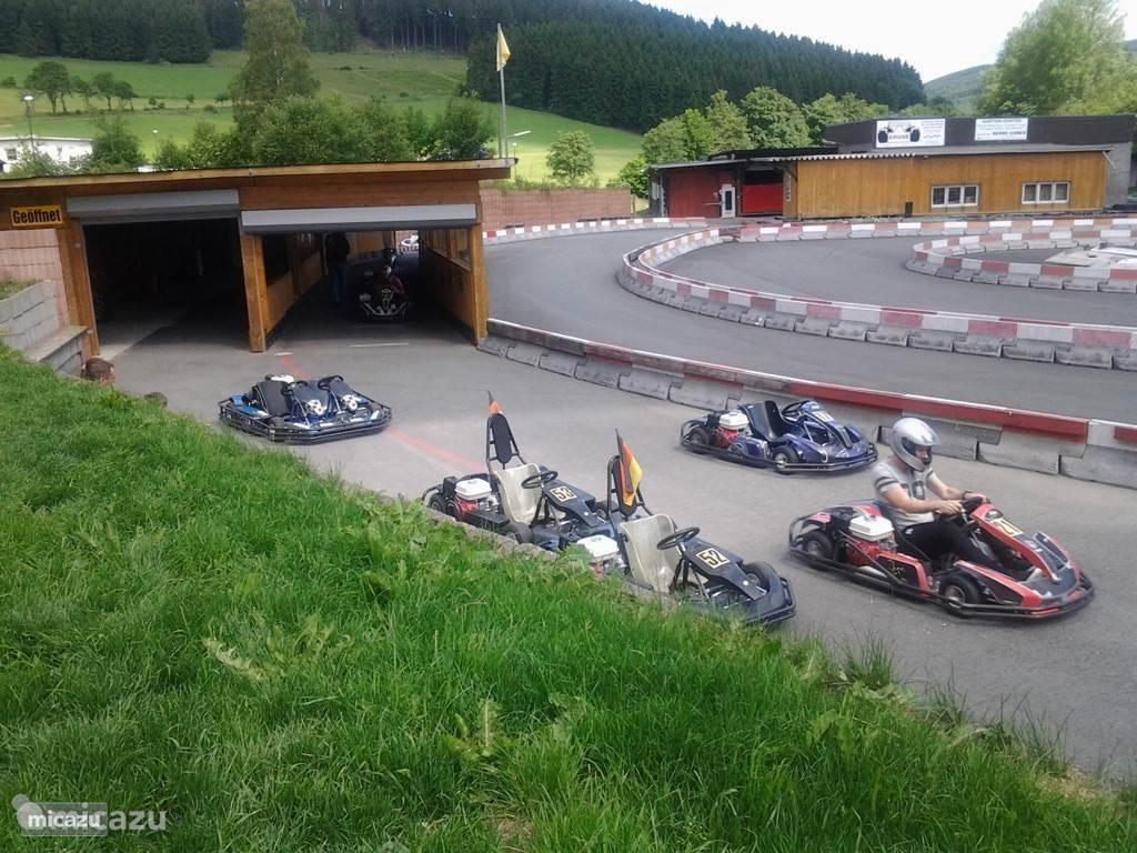 Kartbaan Niedersfeld - Winterberg