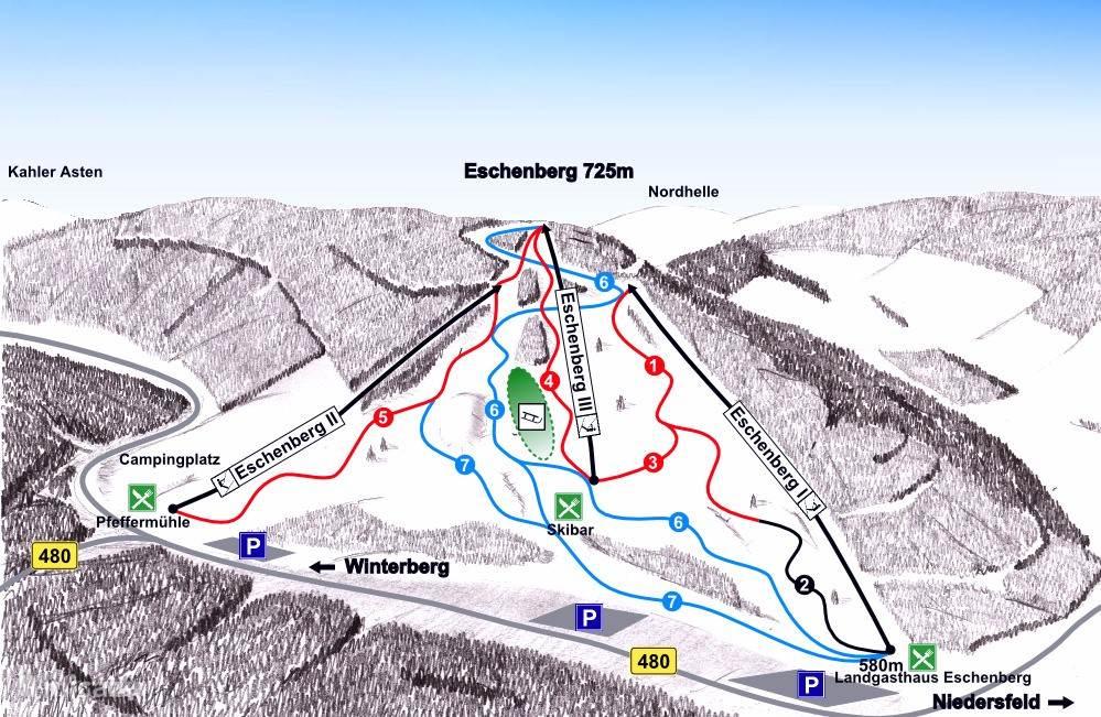 Skigebiet Niedersfeld