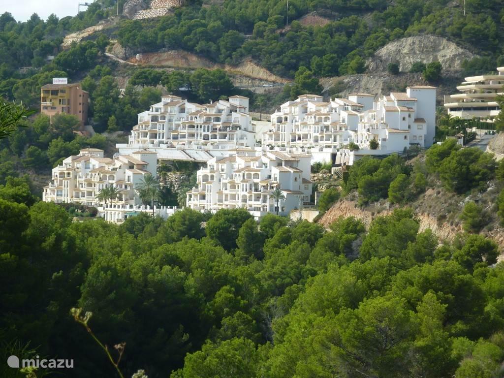 Vakantiehuis Spanje, Costa Blanca, Altea appartement Residence Altea Dorada