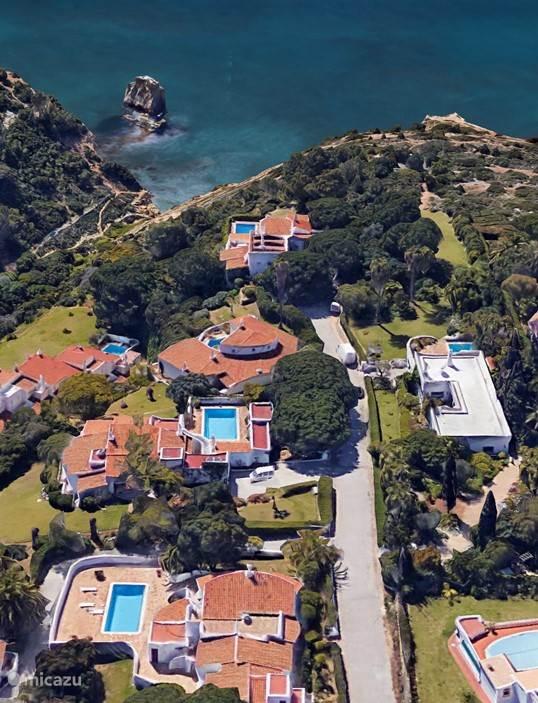 Vakantiehuis Portugal, Algarve, Carvoeiro Villa Villa Gatao, privacy en zeezicht!