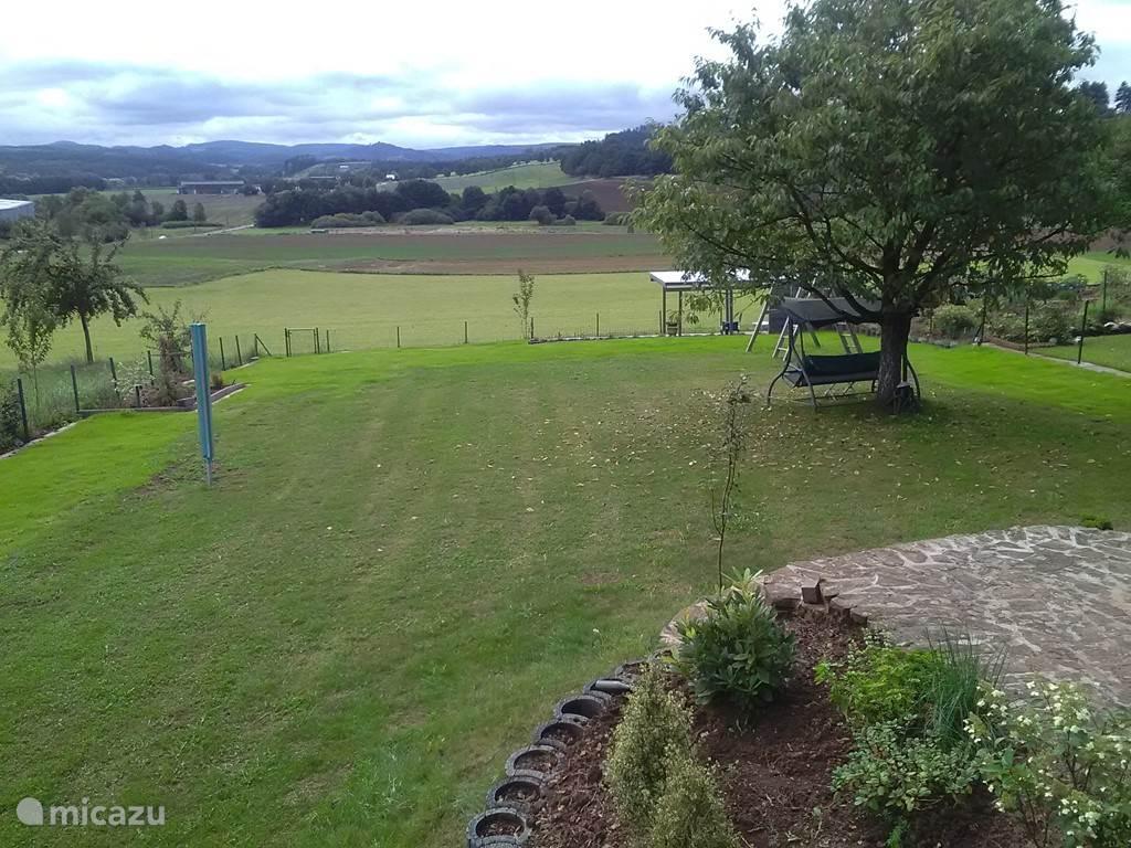 Tuin en uitzicht