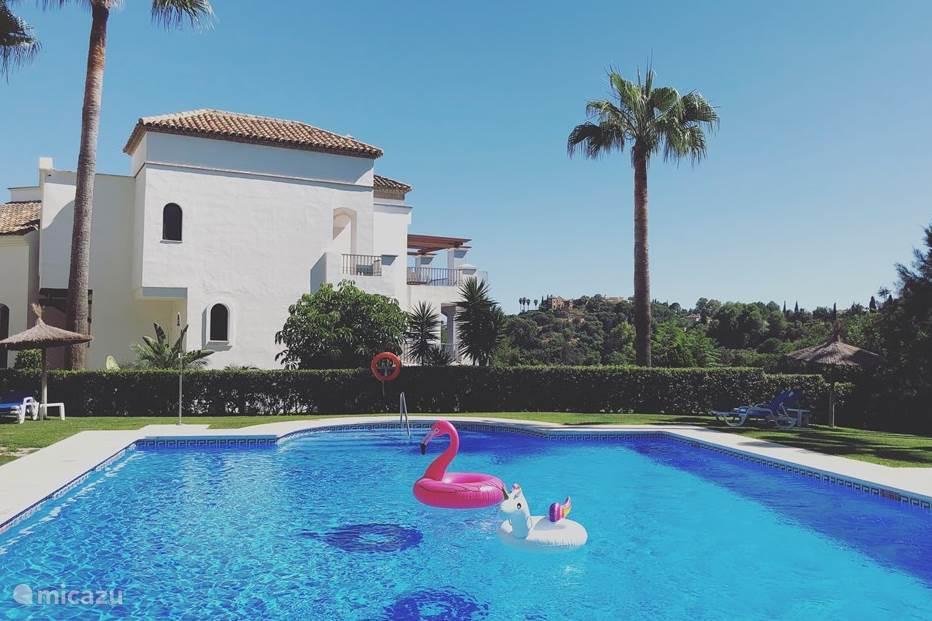 Vakantiehuis Spanje, Costa del Sol, Benahavis appartement Marbella Golf & Holiday