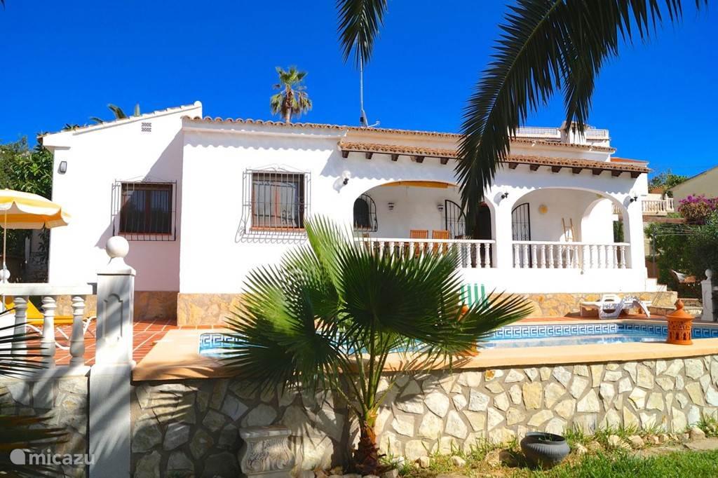 Vakantiehuis Spanje, Costa Blanca, Benissa villa Casa Buena Vista