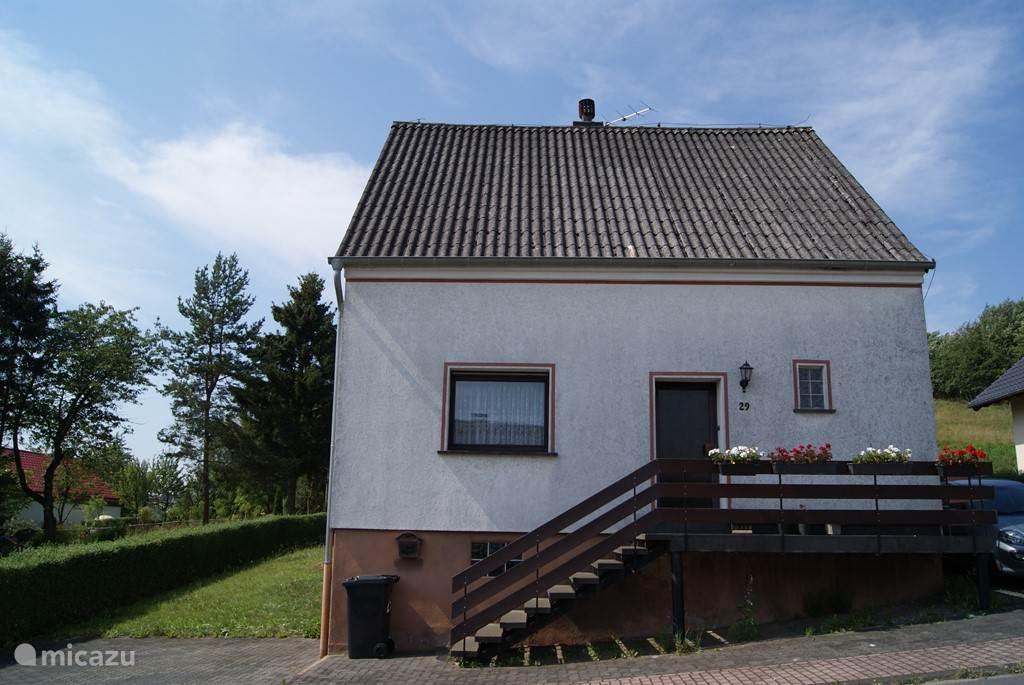 Huis vooraanzicht