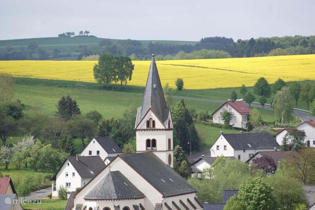 Lissendorf vanaf De Möschelberg