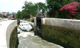 9 sluisjes Canal du Midi Fonseranes / Béziers