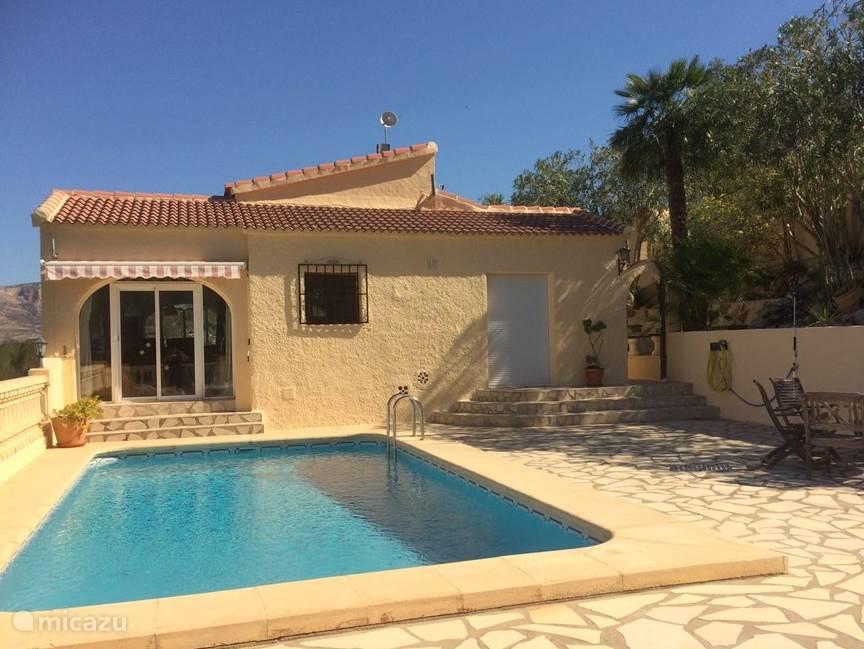 Vakantiehuis Spanje, Costa Blanca – villa Casa Mercedes