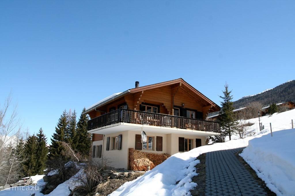 Vakantiehuis Zwitserland, Wallis, Grachen Chalet Alpine Ibex Lodge - Toplocatie!
