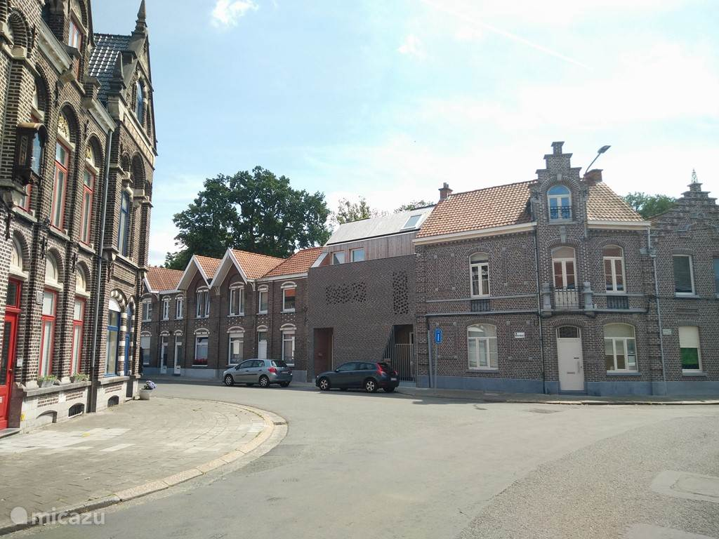 Vacation rental Belgium, Flanders, Oudenaarde townhouse Holiday apartment Liedts