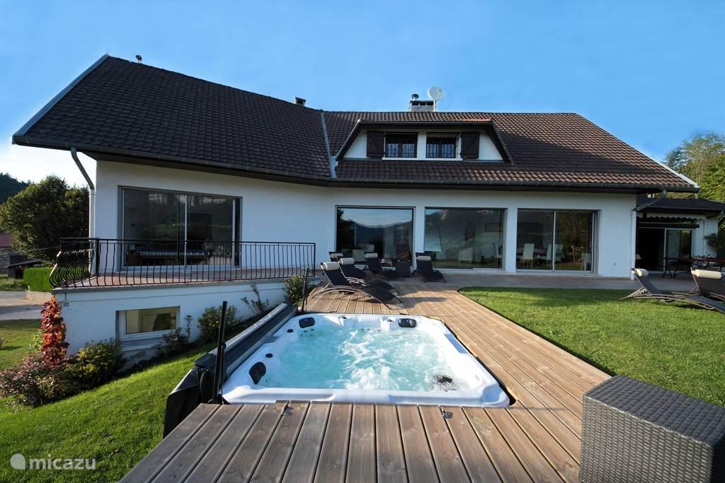Huis + jacuzzi