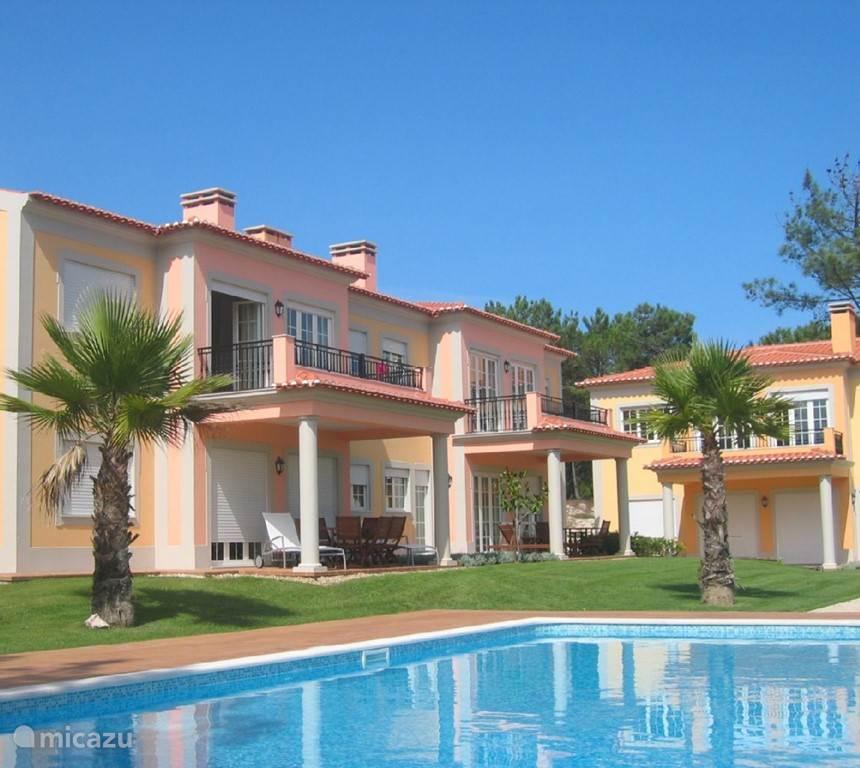 Vakantiehuis Portugal, Costa de Prata, Obidos Appartement Luxe Apartement in Praia d'El Rey