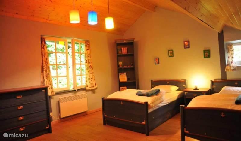 Slaapkamer 2, ook Kuifje kamer genoemd...