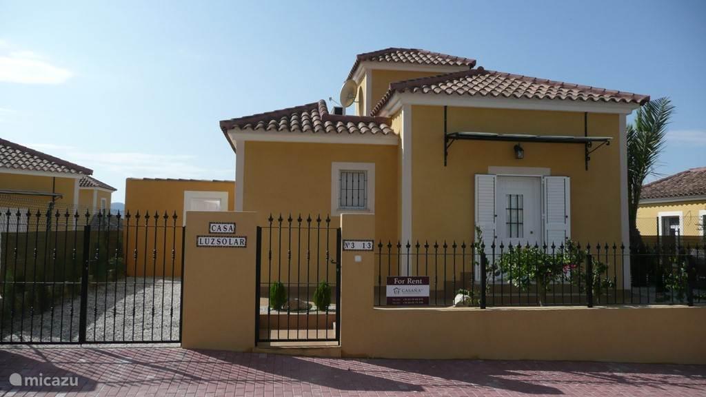 Vakantiehuis Spanje, Costa Cálida, Mazarrón villa Casa Luz Solar