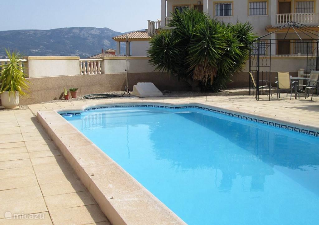 Prive zwembad bij het huis