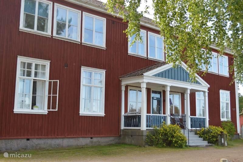 Vakantiehuis Zweden, Värmland, Ransäter Landhuis / Kasteel Vakantiehuis 8-persoons Värmland Zwe