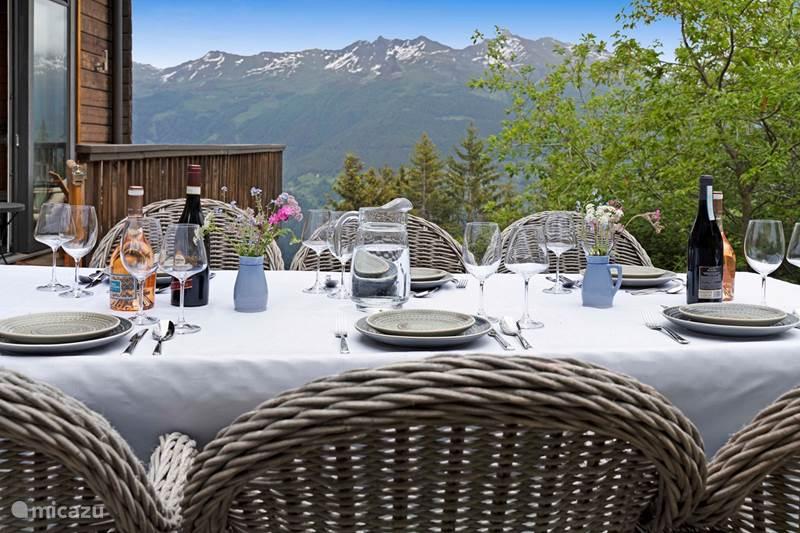 Vakantiehuis Zwitserland, Wallis, Les Collons 1800 m Chalet 1 min. lopen winkelstraat, lift daar