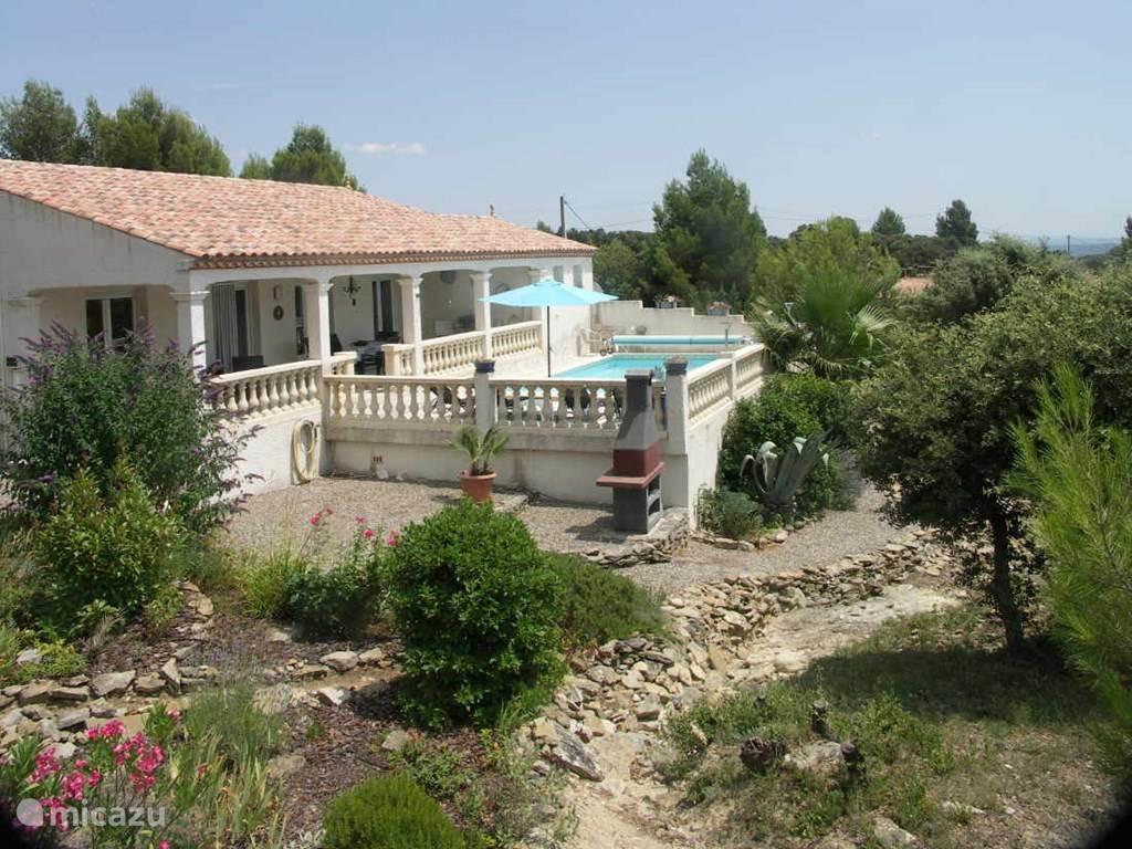 Vakantiehuis Frankrijk, Languedoc-Roussillon, Siran-Najac villa Villa L'Emeraude