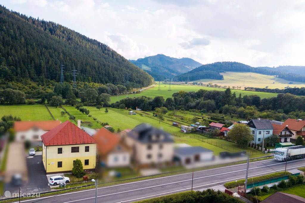 Vakantiehuis Slowakije, Midden-Slowakije – appartement Penzion Svit