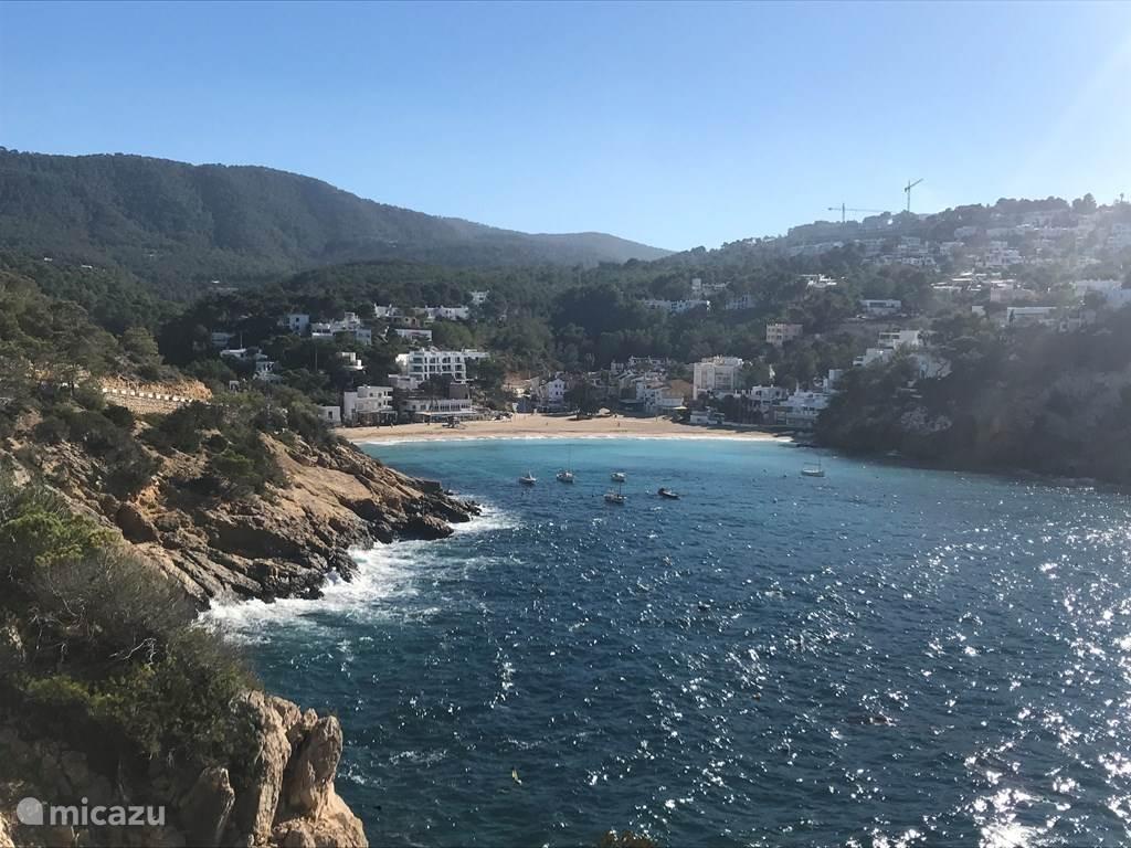 Vakantiehuis Spanje, Ibiza, Cala Tarida - appartement Buen Lugar