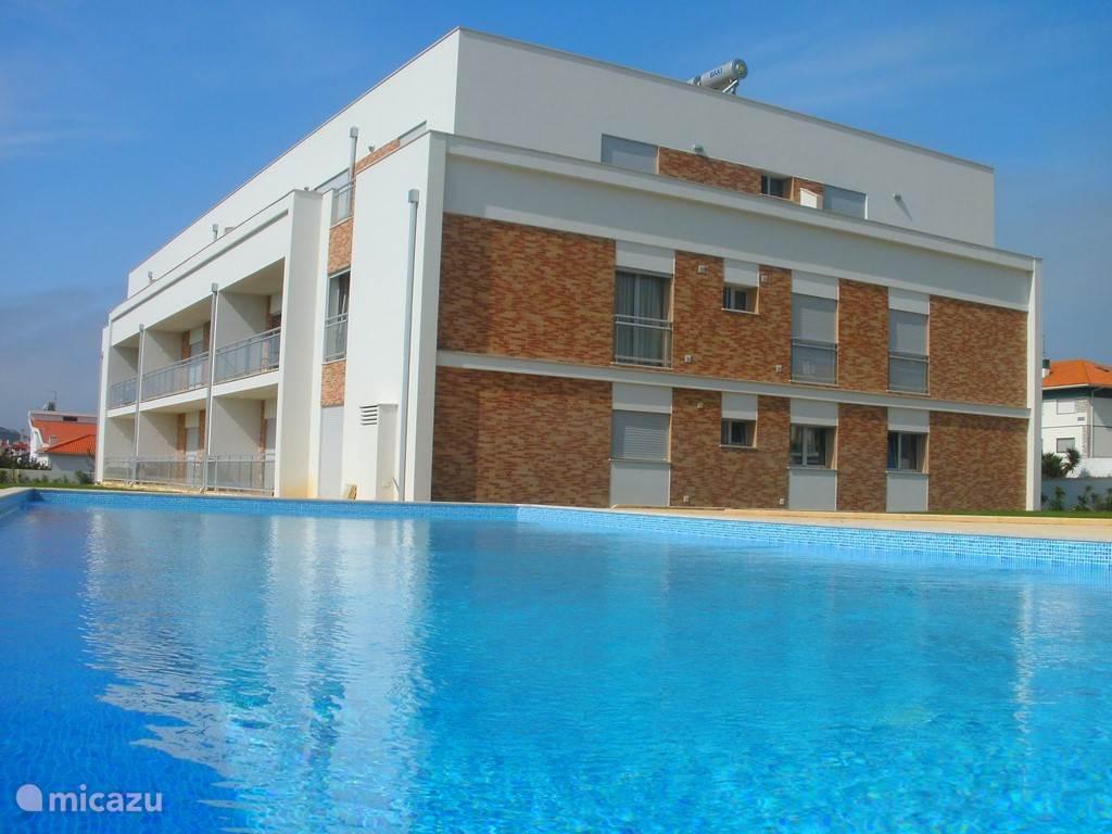 Vakantiehuis Portugal, Costa de Prata, São Martinho do Porto appartement Praia Carmona