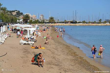 Strandje vlakbij CasaLinde