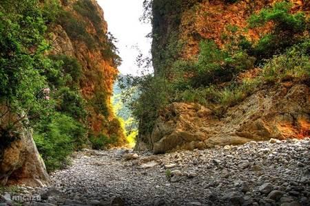 Canyon van Kardamili