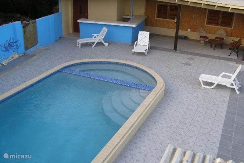 Vacation rental Curaçao, Banda Abou (West), Fontein Apartment Ceri Neger apartment (C)