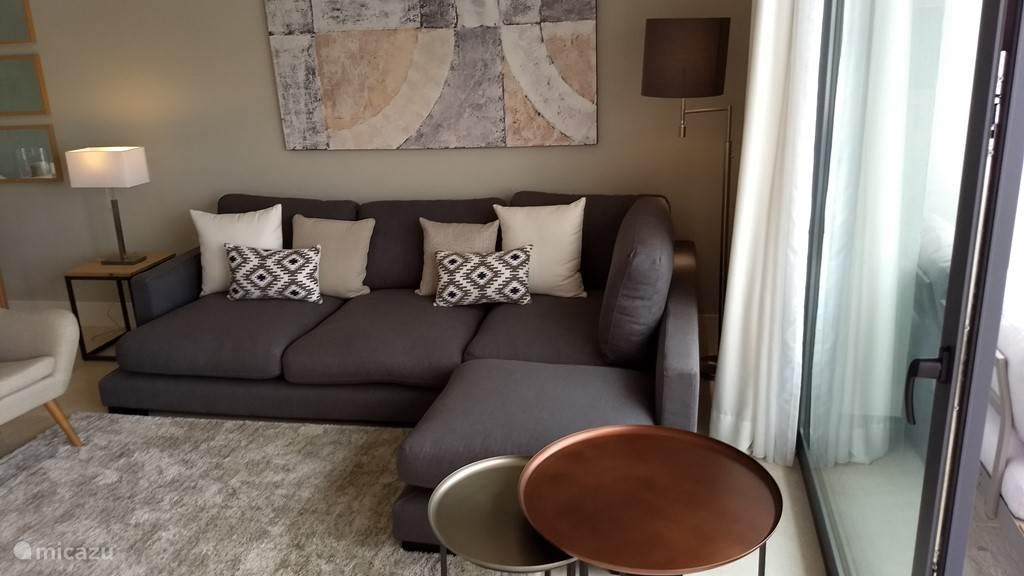 Een gezellige en comfortabele zithoek