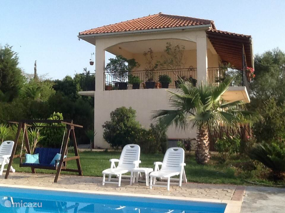 Vakantiehuis Griekenland, Epirus, Paliambela bed & breakfast 5alonia app. bed & breakfast App.2
