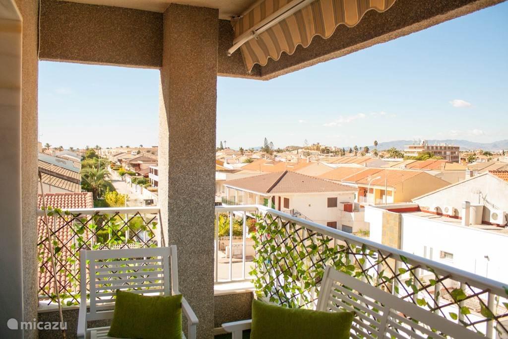 Balkon met uitzicht