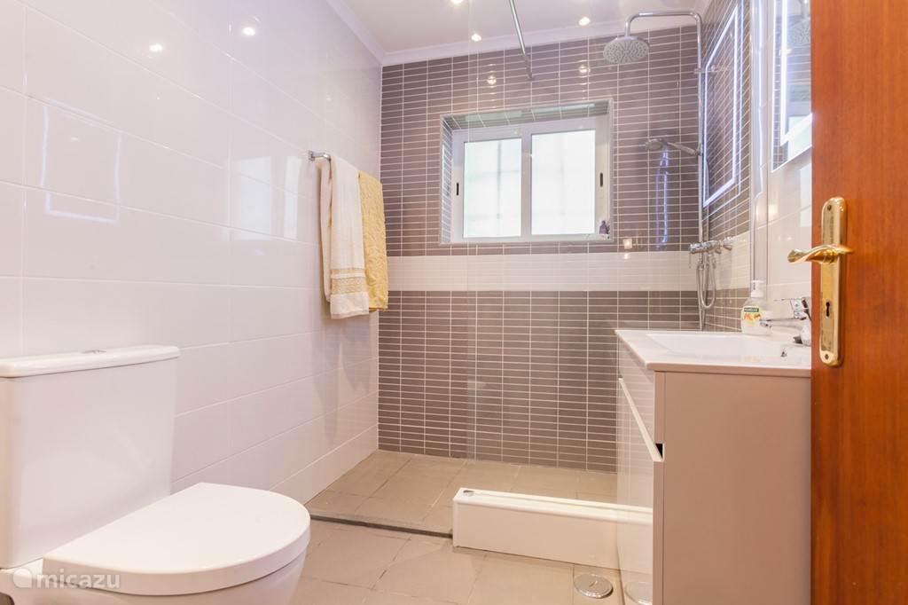 Moderne badkamer met inloopdouche