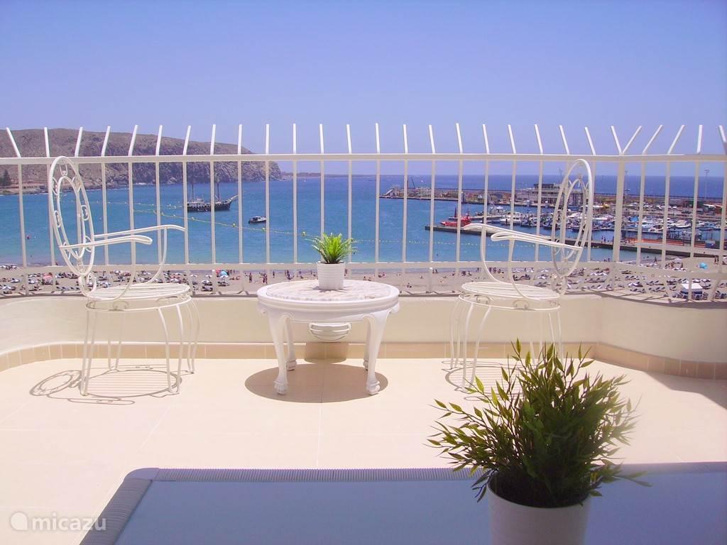 Vakantiehuis Spanje, Tenerife, Los Cristianos penthouse Beach and Boats