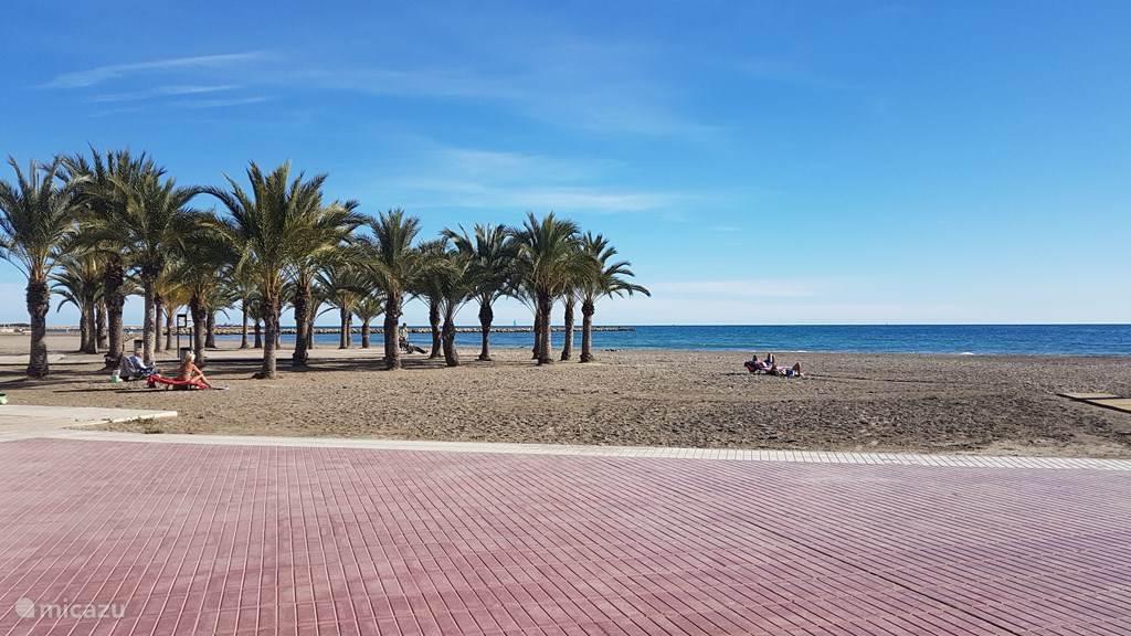 Gran Playa, 300 meter lopen.