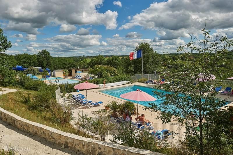 Vakantiehuis Frankrijk, Lot, Mauroux Vakantiehuis Village des Cigales - De Cigale